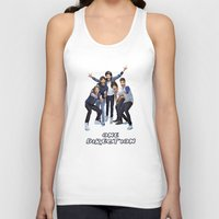 one direction Tank Tops featuring One Direction by ezmaya