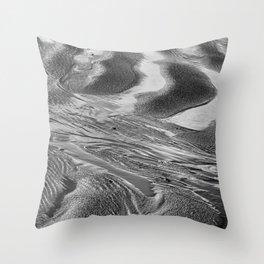 Sand Pattern Throw Pillow