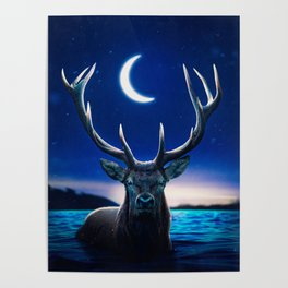 Lovely Deer Poster