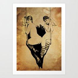 Trapeze Art Print