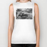 farm Biker Tanks featuring Farm Horse by Jennifer Rose Cotts Photography