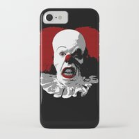 pennywise iPhone & iPod Cases featuring IT by PsychoBudgie