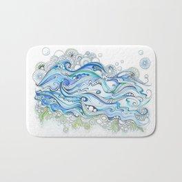 Ocean Seaweed Bath Mat