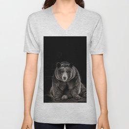 hello bear Unisex V-Neck