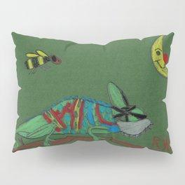 Veiled Chameleon Pillow Sham