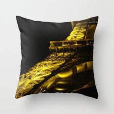 Paris Lights Throw Pillow