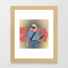 "Carpenter Series: Nada ""They Live"" Framed Art Print"
