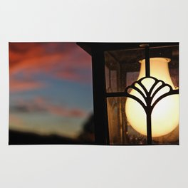 House Light on Sunset Rug