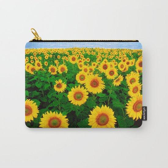 Sunflower art decoration ideas best design Carry-All Pouch