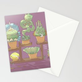 August's Plants Stationery Cards