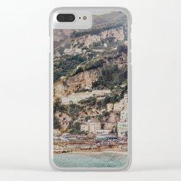 Amalfi Surrealism Clear iPhone Case
