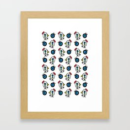 Pajaros by Rolando Chang Barrero Framed Art Print