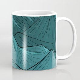 The Turquoise Mounts Coffee Mug