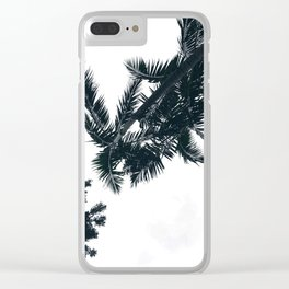 Green Scene Clear iPhone Case