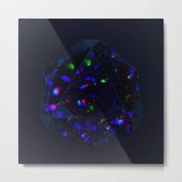 Black Opal Metal Print