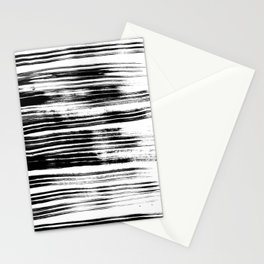 Textured Stripes Stationery Cards