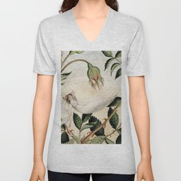 """""""A Fairy Resting in a Hammock"""" by Amelia Jane Murray Unisex V-Neck"""