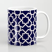islam Mugs featuring Morocco by Patterns and Textures