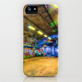 Leake Street London iPhone Case