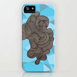 Ocean Swirls iPhone Case