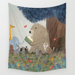 once upon a time Wall Tapestry