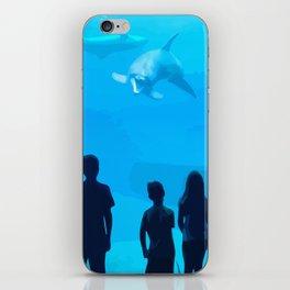Adventure Meeting the sea iPhone Skin