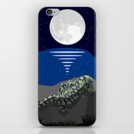 Peace by the Moon iPhone Skin