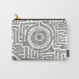 Trilolith Maze Carry-All Pouch