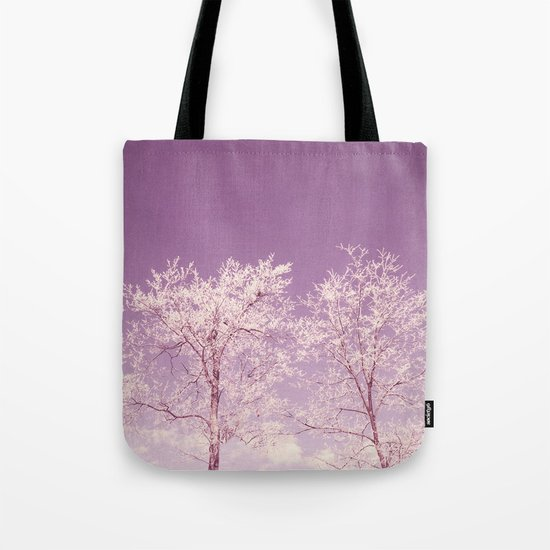 Winter's longing ~ Abstract  Tote Bag