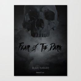 Fear of the dark Canvas Print