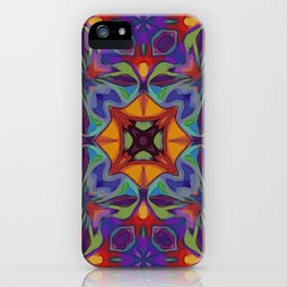 Bohemian Lattice Work iPhone Case