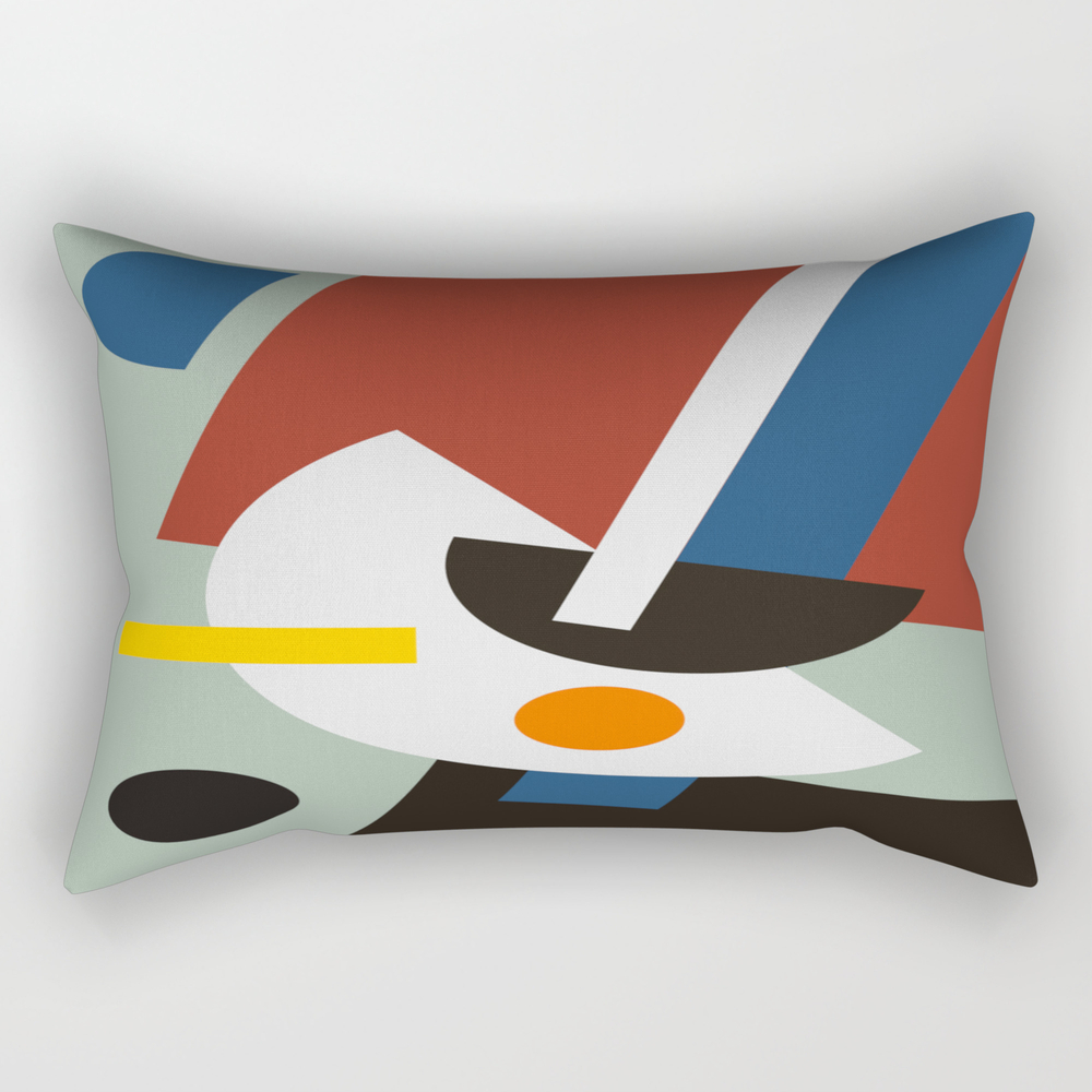 Half Moons Rectangular Pillow RPW8272290