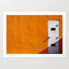 Orange Wall Art Print