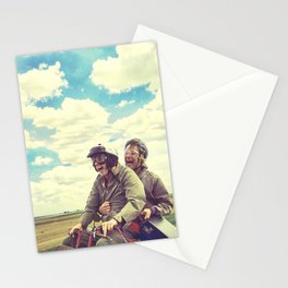 Best Buds - Dumb and Dumber - jim carrey, movie poster Stationery Cards