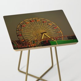 Pacific Park at sunset Side Table