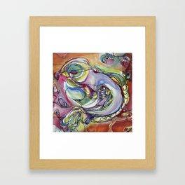 Bird is Figment Framed Art Print