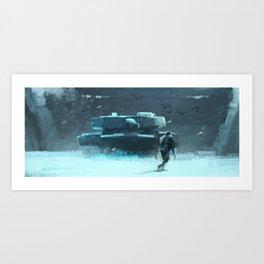 Tankfighter Art Print