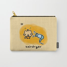 H for hairdryer Carry-All Pouch