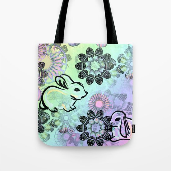 Easter Egg Pattern Tote Bag