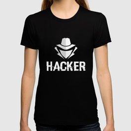 Hacker design T-shirt