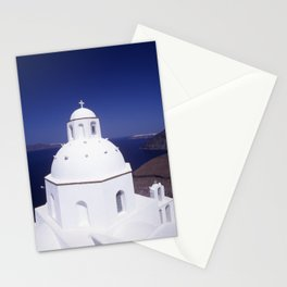 Church - Santorini Stationery Cards