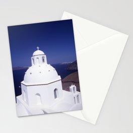Church - Santorini Stationery Cards
