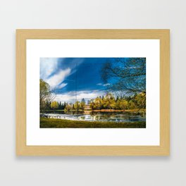 Lakeview Framed Art Print