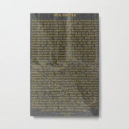 Our Prayer Metal Print