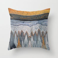 Pulse 2 Throw Pillow