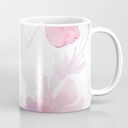 Blooming blush and purple watrclolor Coffee Mug