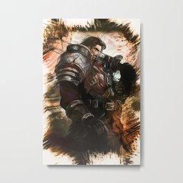 League of Legends GAREN Metal Print