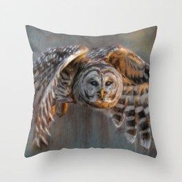 Sunset Hunt Throw Pillow