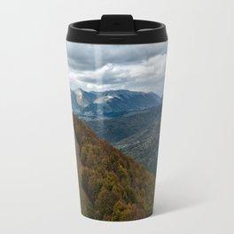 Abruzzo National Park from above Travel Mug