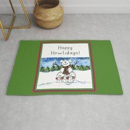 Happy Howlidays! Rug